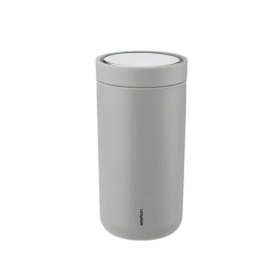 Termo hrnček TO GO CLICK STEEL » 0,2 l | mat light grey
